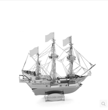 Top Quality Metallic Steel For Nano Intelligence 3D Titanic Jigsaw Steamer Ship Puzzle Model Toy Gift Decoration enfeites