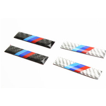 2pcs M performance Car door car windows sticker car side for BMW 1 3 5 7 Series GT E39 E46 E60 E90 E91 F30 F20 F10 F11 X Series