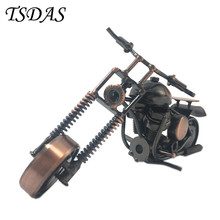 Wheels Can Be Moved Metal Model Motorcycle Model Novelty Iron Crafts Decoration Chain Motorcycle Fashion Home Decor