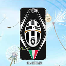 juventus logo sports lovely plastic hard phone accessories case for HTC one M7 M8 M9 M9 PLUS A9 X9 cover case
