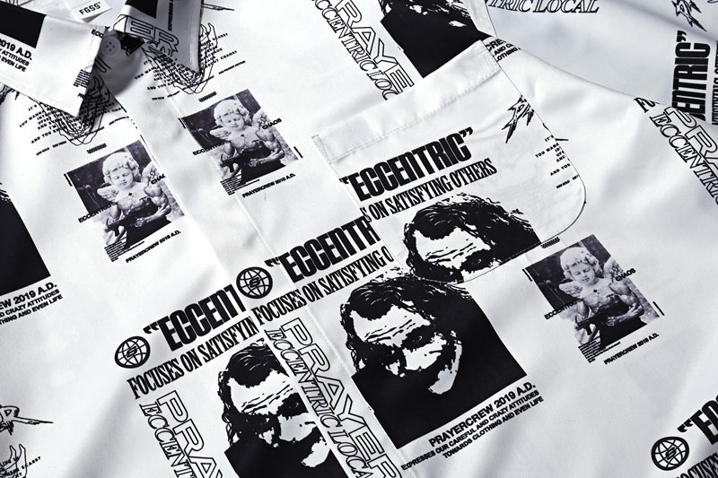 Joker Angel Print Shirts 3