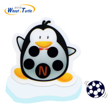 4Pcs Penguin Cartoon Sticker Forehead Thermometer For Baby Lcd Digital Fever Monitor Thremometer kids Health Care Thermometer