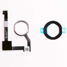 1pcs Repair Parts For iPad Mini 4 Home Button Key flex cable Black gold white Assembly(China)