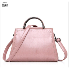 XIYUAN BRAND Women pink handBag High Quality Patent PU leather Handbags Valentine's Gifts For Woman Fashion Messenger Bag blue
