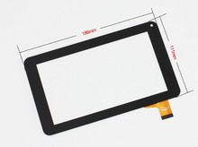 new 7'' tablet Tesla Magnet 7.0 IPS touch screen digitizer touch panel glass sensor(China)