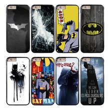 Coque Superhero Batman Joker Capa Phone Cases for iPhone X 8 8Plus 7 5S 6 6S 7 Plus SE 5C 5 4S 4 Case for iPod Touch 6 5 Cover.(China)