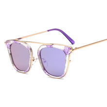 Women Sunglasses Oval Fashion Female Men Retro Reflective Mirror glasses Original Brand Designer Men Retro Oculos Gafas De Sol(China)