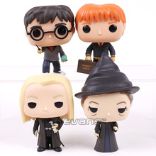 Harry 32 Fred Weasley 33 Lucius Malfoy 36 Minerva McGonagall 37 Vinyl Figure Collectible Model Toy with Retail Box(China)