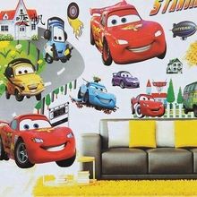 Free shipping Cartoon Style Movie Cars  Children's Room Decorative Wall Stickers Kids Vinyl Sticker Colorful Home Decor