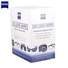 Pre-moistened Zeiss anti-fog cleans Bacteria Germs no steaks for Mobile phone Eyeglasses Cloth Camera Cleaner Lens Wipes 200pcs(China)