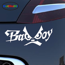 HotMeiNi 15.6*6.3CM 10 Colors English Alphabet Bad Boy Creative Personality Funny Eyes Car Styling Fashion Vinyl Car Stickers(China)