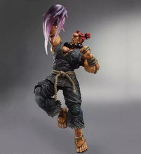 NEW Square Enix Street Fighter IV Play Arts Kai AKUMA Action Figure 9'' A75S