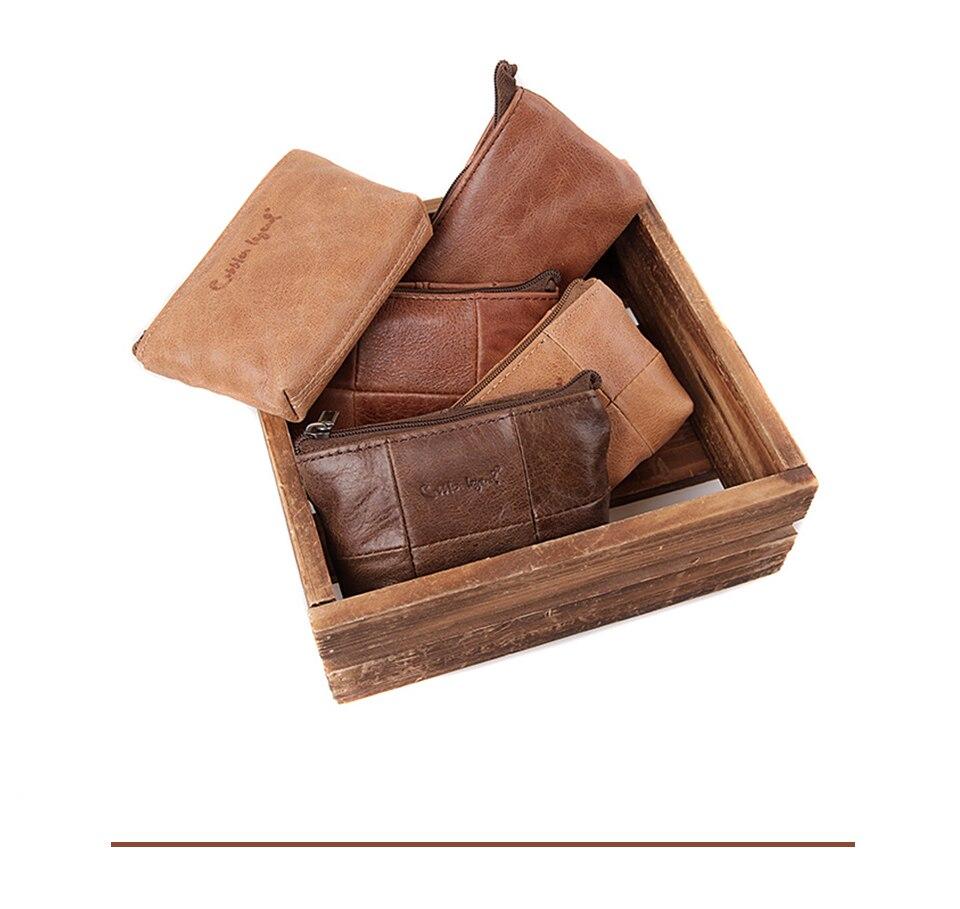 محفظة صغيرة جلد طبيعي 4