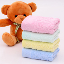 Children \ baby towels bamboo fiber 1PC Quick-Drying  towel Face Towels  Hand Hair Towel 25*50cm