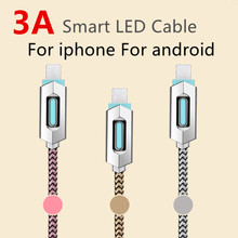 3A MFI Certified for iphon cable line high speed UDB fast charger for iphone 6 6s 5 7 for HUAWEI SAMSUNG,mobile phone cables