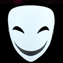 Hotsale High Quality Masque Party Mask For Halloween,Black Bullet Theme Clown Face Mask ,Cosplay Anime Costume Masquerade Mask