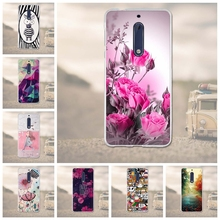 For Nokia 5 Case Cover For Nokia Silicone Cover 3D Relief Drawing Soft TPU Coque For Nokia 5 Cover 5.2 Inches Mobile Phone Bag