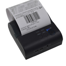 80mm Thermal Bluetooth 4.0 Receipt Printer Mini Portable POS printer For Windows android IOS Mobile phone printer