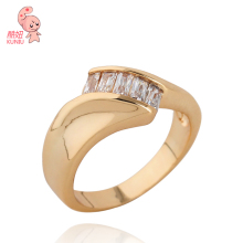 Italian Design white zircon Jewelry ring for fashion women(KUNIU J0077)