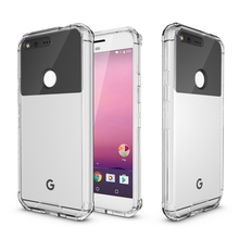 TPU Bumper+Acrylic Clear Transparent Phone Case For Google Pixel 5 Inches Protection Air Hybrid Hard Back Cover Shell