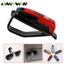 1Pcs Auto Fastener Cip Auto Accessories Car Vehicle Sun Visor Sunglasses Eyeglasses Glasses Ticket Holder Clip Color Random(China)
