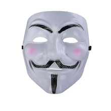 3 Pcs Hot Male Selling Party Masks V For Vendetta Mask Wedding Props Masquerade Mardi Gras Mask