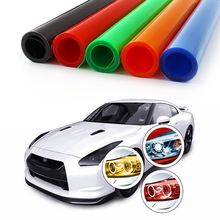 5 Colors 30cm*100cm Waterproof DIY Hot Sales Auto Lamp Headlight Parking Light Sticker on Car Vinyl Film Taillight Decal(China)