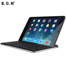 For Ipad Air 1 Wireless Bluetooth Keyboard with Slot Stand Magnetic Attraction Wireless Keyboard with Background Light