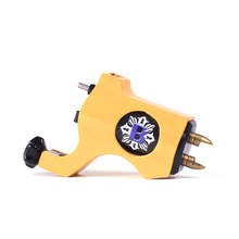 Tattoo Machine Hot Sale Yellow Bishop Rotary Tattoo Machine RCA Cheap-Tattoo-Machine Guns For Tattoo Body Art Free Shipping
