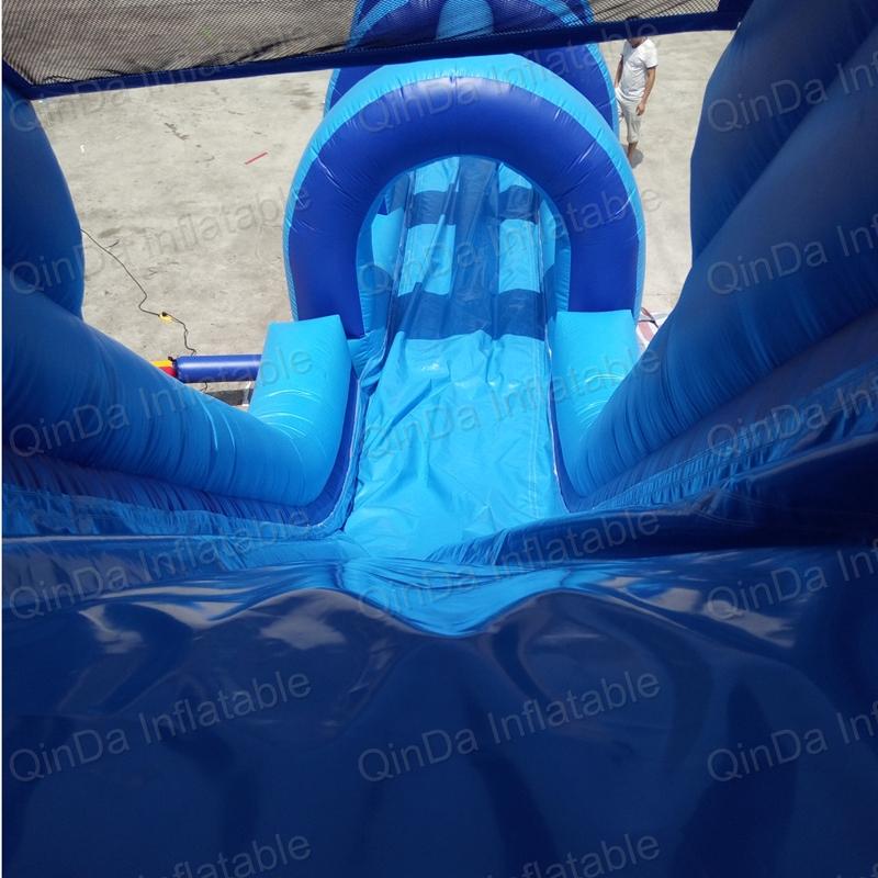 inflatable bouncer slide fun city castle(45)