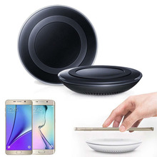 Qi Wireless Charger Charging Pad Original for SAMSUNG GALAXY S6 S6 Edge S6 Edge+ Plus S7 S7Edge Note5 Lumia 920/93 HTC 8X Black(China)
