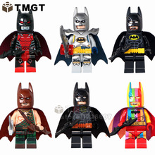 TMGT Building Blocks 10Lots ofDecool0268-0273 Super Heroes Excalibur Titan Ultimate and Rainbow Batman Gift Baby Toys Dropshippi