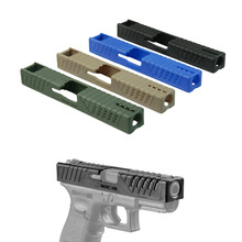 NEW Polymer Slide Cover Tactical Skin For Glock Pistol  BK Blue DE FG