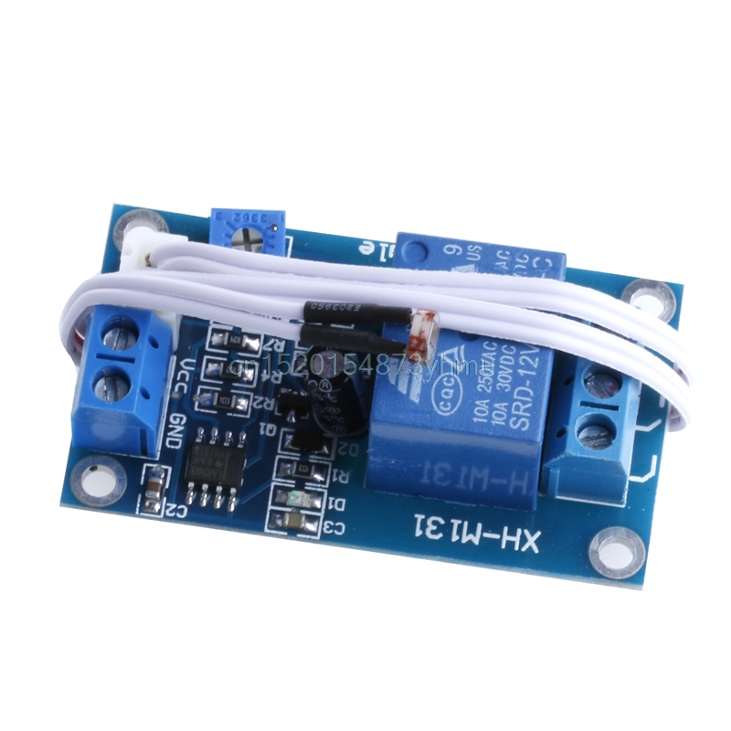 DC 12V Photoresistor Module Relay Light Detection Sensor Light Control Switch #L057# new hot