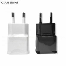 QiAN SiMAi NEW 5V 2.0A EU Wall USB Charger + MICRO USB Cable For CUBOT GT89 ZOPO ZP999 ZP520 Doogee DG580 Leagoo Lead 1 K550