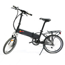 JS 36V Lithium Battery Foldable E Bicycle LCD Fornt Light Brushless Hub Motor Folding E Bike Mini Foldable Electric Bike Cycling