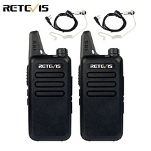 2pcs Mini Walkie Talkie Retevis RT22 2W UHF 400-480MHz CTCSS/DCS TOT VOX Scan Squelch Two Way Radio Ham Hf Transceiver A9121A(China)