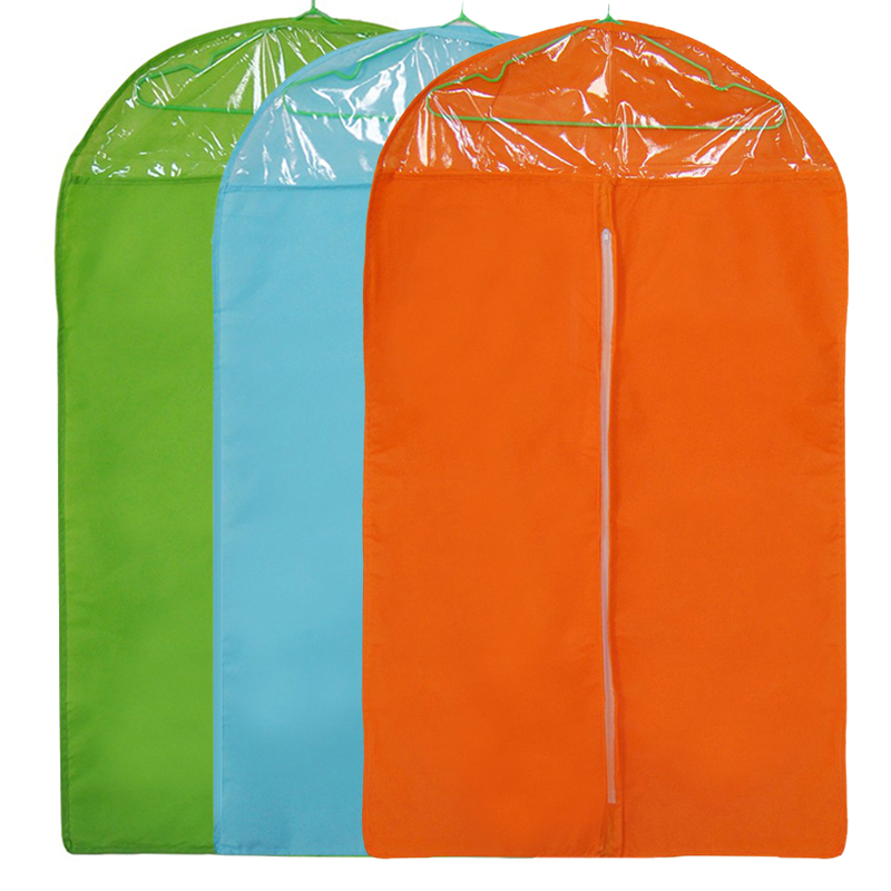 Storage Zipper Wardrobe Garment Bag Dust Cover Non-woven Fabric Household Useful