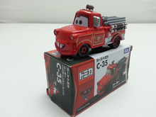 Tomy Tomica Pixar Car C-35 Rescue Squad Mater Diecast Metal Toy Car 1:64 Brand New Box In Stock & Free Shipping