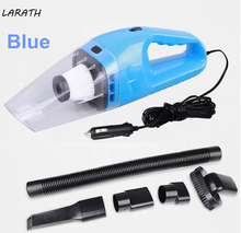 Portable Vacuum Cleaner for Car and Home Hand Held Wet and Dry dual-use Auto Cigarette Lighter Hepa Filter 5M Wire 120W 12V