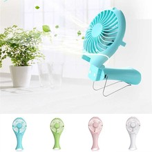 Mermaid Design USB Rechargeable Handheld Mini Fan Portable Summer Energy Conservation Folding Quite Cooling Fan XXM