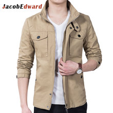 Men's Casual Jackets Polyester Cotton Long Sleeve Mens Jackets And Coats Slim Fit Jaqueta Masculina Plus Size M-5XL Men's Coats