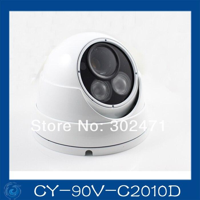1/3 Sony  CCD Effio-e 700TVL 673+4140 OSD menu array leds IR 30m outdoor waterproof cctv camera with Bracket . CY-90V-C2010D<br>