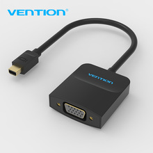 Vention Thunderbolt To VGA Converter Mini Displayport To VGA Adapter Displayport to VGA Cable For Apple Macbook Air Pro iMac Mac(China)