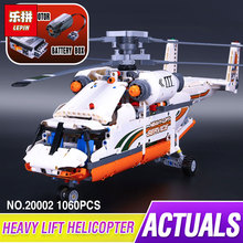 new lepin 20002 technology series mechanical group high load helicopter blocks Compatible With 42052 Boy assembling toys(China)