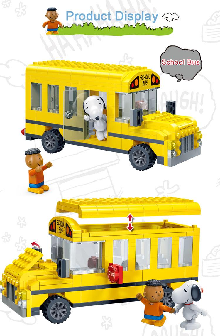 BanBao 7506 School Bus Cars Building Blocks 23
