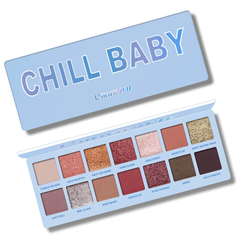 Beauty Essentials Beauty & Health 14 Color Nude Shining Eyeshadow Palette Makeup Glitter Pigment Smoky Eye Shadow Pallete Waterproof Cosmetics Factories And Mines