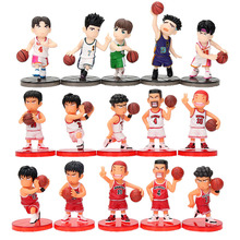 5Pcs/set Anime Slam Dunk PVC Action Figures Dolls Boys Toys Doll Birthday Christmas Gifts(China)