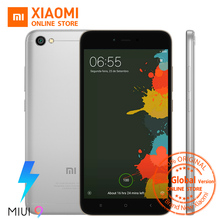 Global Version Xiaomi Redmi Note 5A 5 A 5.5 Inch 4G LTE Mobile Phone 2GB 16GB Snapdragon 425 CPU 13.0MP 3080mAh MIUI 9 CE FCC(China)
