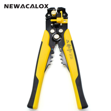 HS-D1 Multi functional Cable wire Stripping AWG24-10 0.2-6.0mm2 straight Cutting Crimping tools Wire stripper(China)